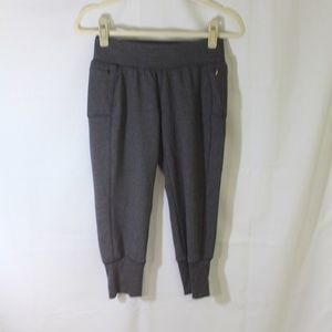Calia Carrie Underwood Capri Sweats Grey XS